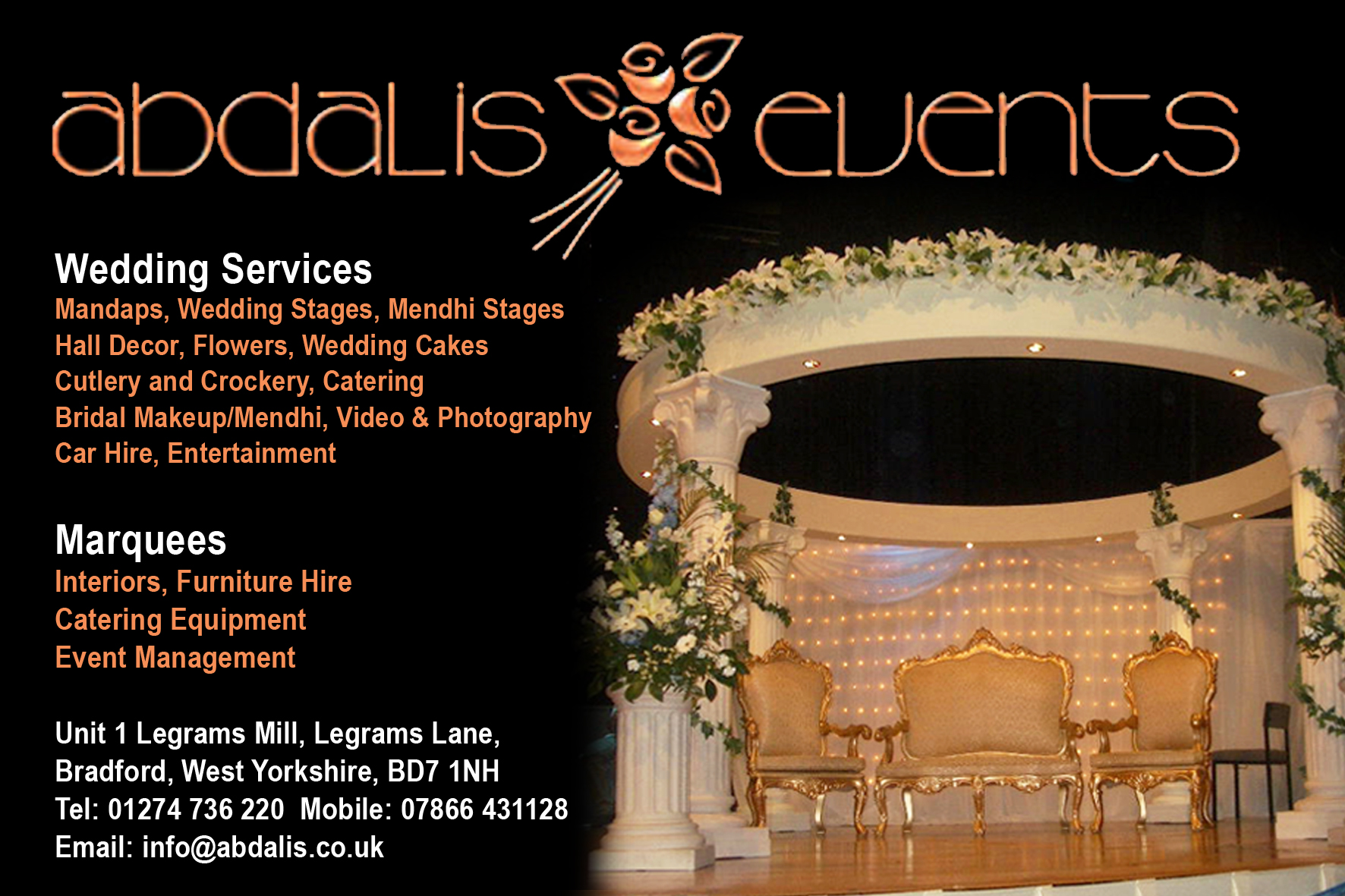 Abdalis Events